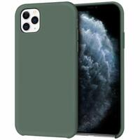Original Silicone/Leather Case Cover For iPhone 11 11pro 11 pro max Genuine OEM