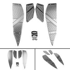 Pied de lit Footpeg Repose-pied Etape Pad Pour Yamaha XMAX 125 250 300 400 TIT F