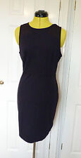 Calvin Klein Doloris MILANO Navy Fitted Dress. Size L