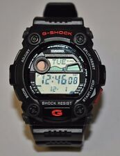 Casio G7900-1 G-Shock Rescue Black Tide & Moon Data Digital Men's Watch