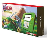 Nintendo 2DS with The Legend of Zelda: Ocarina of Time Green Console - Brand New