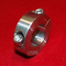 "Black Oxide USBB 1U35 037 2 Pcs 3//8/"" Double Split Shaft Collar Stop Collars"