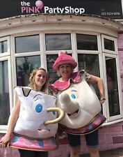 Mrs Potts & Chip Costume Fancy Dress TO HIRE ONLY Beauty & The Beast