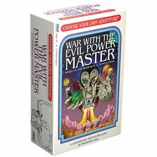 Choose Your Own Adventure War With The Evil Power Master Z-man Games