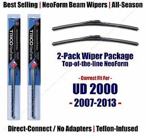 2pk Super-Premium NeoForm Wipers fit 2007-2013 UD 2000 16260x2