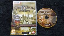 CIVILIZATION IV 4 COMPLETE PC DVD-ROM V.G.C. FAST POST ( strategy game )