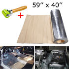 """Sound Deadener - Automotive Noise Insulation Mat With Adhesive Layer 59""""x40"""" US"""