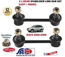 Per TOYOTA RAV4 1.8 2.0 2.0 TD D4D 2000-2006 Nuovo 2x Posteriore Stabilizzatore Bar Link