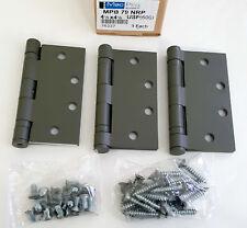 """Pack of 3 McKinney Mac Pro MPB79 NRP 4-1/2"""" x 4-1/2"""" 26D Steel Door Hinges"""