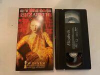 1998 Elizabeth VHS Video Tape Cate Blanchett