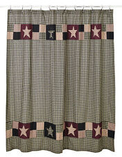 *** PLUM CREEK Shower Curtain ~ Country, Primitive***NEW