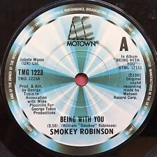 Smokey Robinson - Being With You / What's In Your Life For Me - Motown VG+