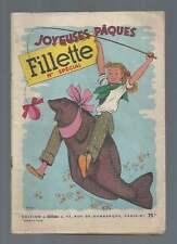 FILLETTE N° SPECIAL JOYEUSES PÂQUES . 1954 . AGGIE/LILI .