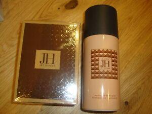 AVON JET HOMME JH FOR HIM EDT 75MLS & deo  body spray 150mls  BRAND NEW