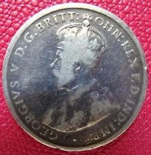AUSTRALIA ONE FLORIN SILVER COIN  1917  (KING GEORGE V)