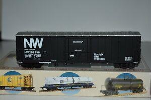 HO Scale Walthers 932-4759 Norfolk & Western 50' Single Door Boxcar C21136