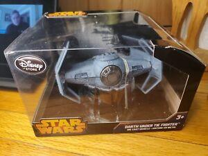 Disney Store Star Wars Darth Vader TIE Fighter Die-Cast Collectible Vehicle NIB