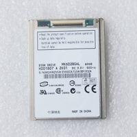 "NEW 1.8"" MK6028GAL 60GB ZIF CE hard disk drive HDD1807 For HP Compaq mini 700"