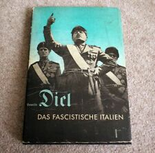 More details for original german book about italy and mussolini das fascistische italien 1934 ww2