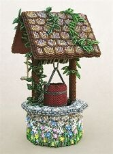 Bead Embroidered Wishing Well BEAD KIT - Suitable for complete beginners!