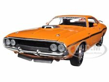 1970 DODGE CHALLENGER R/T ORANGE 50TH HEMI ANNIVERSARY 1/24 CAR BY M2 40300-42