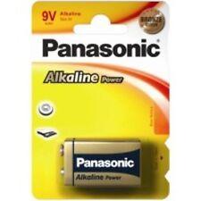 Pila Panasonic alcalina 9v 6lf22 tipo Block
