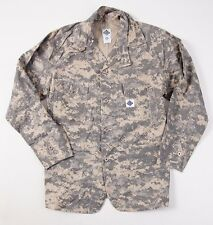 New $385 POST O'ALLS Camo Print Cotton Engineer's Jacket S Small Overalls