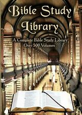 Bible Software-500 Books-85 Commentaries-Devotion-Maps+