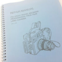 Polaroid Model 600SE 600se 600 Professional Land Camera Service & Repair Manual