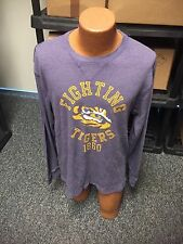 NWOT LSU FIGHTING TIGERS 1860 LONG SLEEVE THERMAL MENS SIZE 2XL