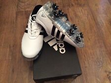 Mens Adidas Adipure Flex waterproof golf shoes white black size 6.5 wd RRP £120
