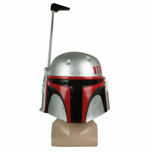 Star Wars The Empire Strikes Back Boba Fett Helmet Halloween PVC Cosplay Props