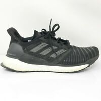 Adidas Womens Solar Boost BC0674 Black Running Shoes Lace Up Low Top Size 7.5