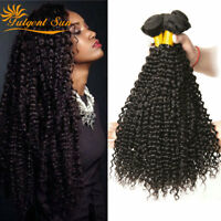 10A Kinky Curly Indian Brazilian 100%Virgin Human Hair Extension 300g 1-3Bundles