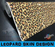 Leopard Sticker Bomb Car Wrapping Vinyl 1.52 x 3m - Bubble Free Wrap Film Foile