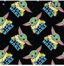 STAR WARS BABY YODA! MANDALORIAN Fabric 1/4, 9'x43' Yard- NEW!!!