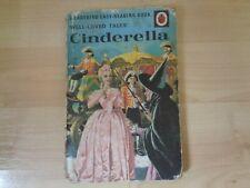 VINTAGE LADYBIRD WELL LOVED TALES BOOK - CINDERELLA, MATT HARDBACK 606D/1964