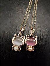 Lot Revendeur 10 Colliers Necklace Mix Couleurs Chat Cat Destockage Wholesale
