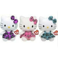 Set of 2 Ty Beanie Teeny Tys HELLO KITTY New w  Heart Tag MWMT s ... 0af8a35a072e