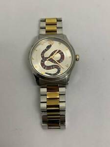 Gucci G-Timeless Snake YA1264075 Unisex Quartz Watch