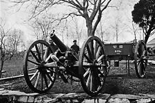 New 5x7 Civil War Photo: 6 Pounder Wiard Cannon Gun at Washington Arsenal - 1862