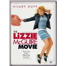 DVD LIZZIE MCGUIRE THE MOVIE Hilary Duff DISNEY RARE LEAFLETS REGION 1 NTSC [VG]