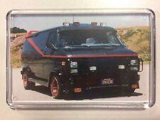 The A-Team Van GMC Iconic Fridge Magnet / Mini Stand