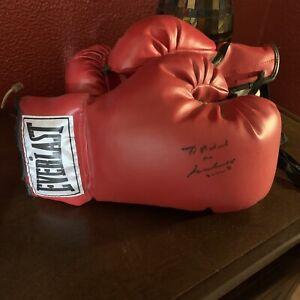 muhammad ali autographed boxing glove