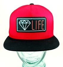 "DIAMOND SUPPLY ""NEON"" SNAPBACK Red"