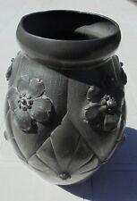 ancien vase ovoïde étain d'art par L HOUZEAUX 1925/35
