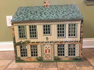 Vintage Marx Metal Colonial Dollhouse
