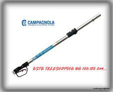 """Asta Telescopica T1 """"Campagnola"""" in Alluminio 100-150Cm-Con Impugnatura-1.05Kg.."""