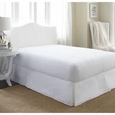 Luxury fitted breathable waterproof brushed cotton mattress protector Double bed