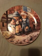 M.J. Hummel plates The Danbury Mint
